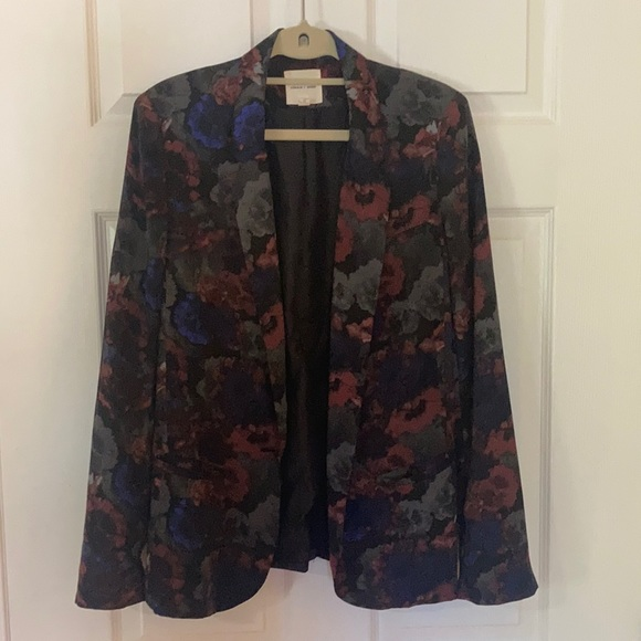 UO (Silence + Noise) Fitted Blazer (Floral)